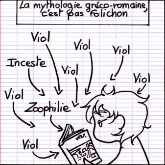 Et je parle pas des autres mythologies !